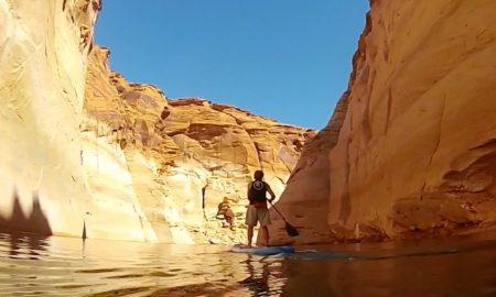 Standup Paddling Antelope Canyon Lake Powell