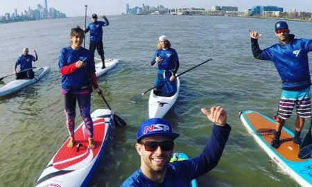 Monster & Sea Paddle A-Team Paddleboarding Manhattan