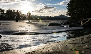 Wild Coast Tofino sup surf video