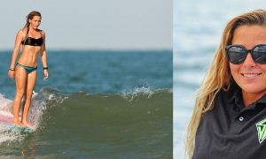 Jazmine Dean Keeper Sports Scott Burke surf banner
