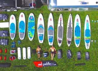 red paddle co north american tour