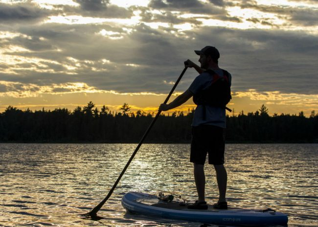 Minnesota Sup Boundary Waters Bryce Haak