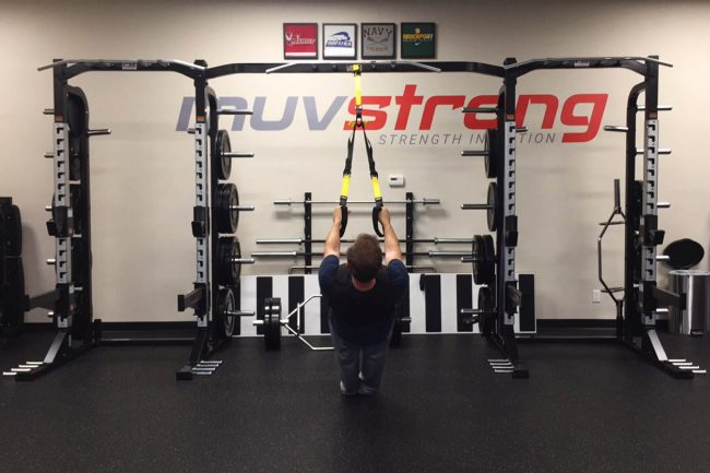 Muv Strong choosing a fitness facility trx rack