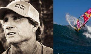 Robby Naish sailing hall of fame banner