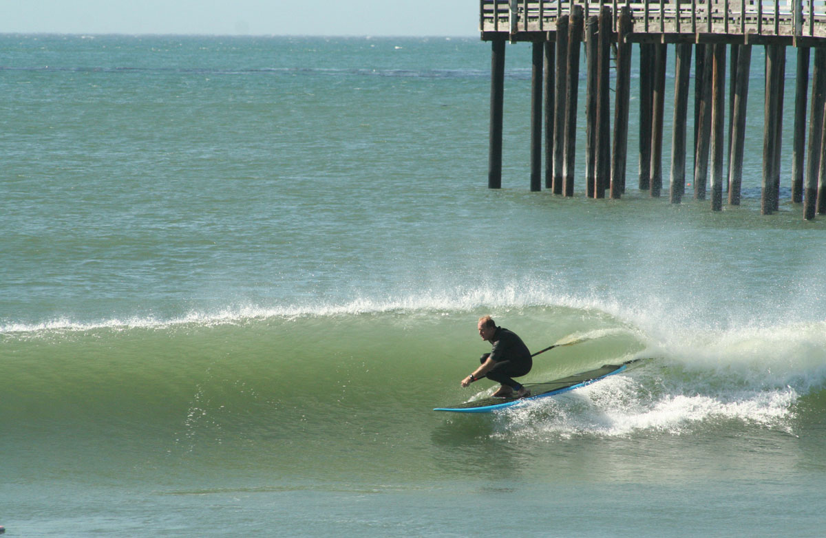 Tom 'Wart' Craig, Cayucos, California. Photo by KIM ENRIQUEZ