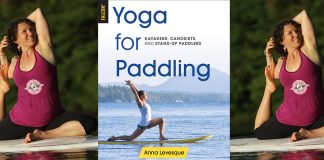 Yoga for Paddling Anna Levesque BIC sup banner