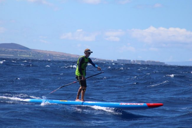 Connor Baxter Starboard Maui to Molokai M2M start