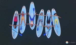 Kelly Huck Starboard SoCal Paddle Yoga