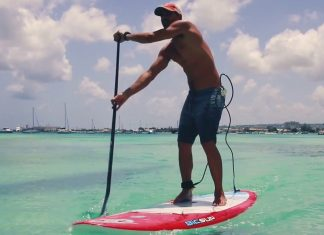 ghost leash jason cole paddle barbados