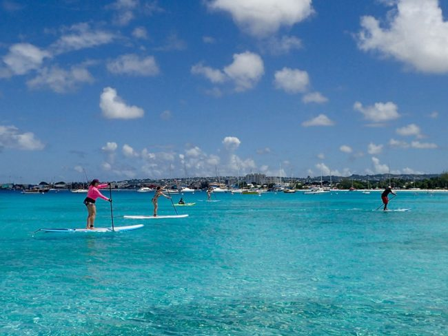 Paddle-Barbados-SUP-Lesson
