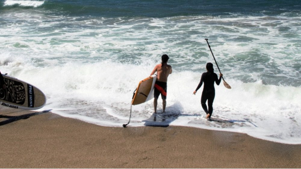 Standup Journal The World S First Stand Up Paddleboard