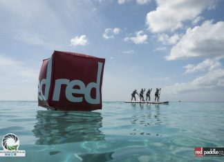 Dragon World Championships Barbados Red Paddle buoy