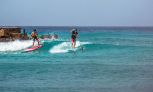 Paddle Barbados Jason Cole sup surf video