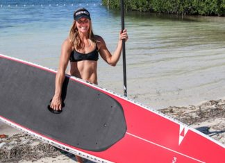 Seychelle SIC Maui Paddle Monster training