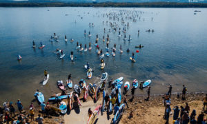 Russia SUP World Record attempt SUP parade 2