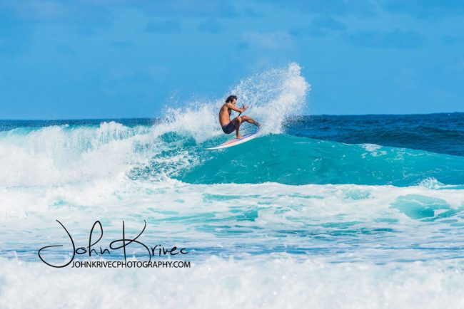 JLay Barbados top turn John Krivec Barbados
