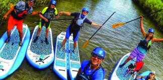 Shaboomee sup paddleboards colorado