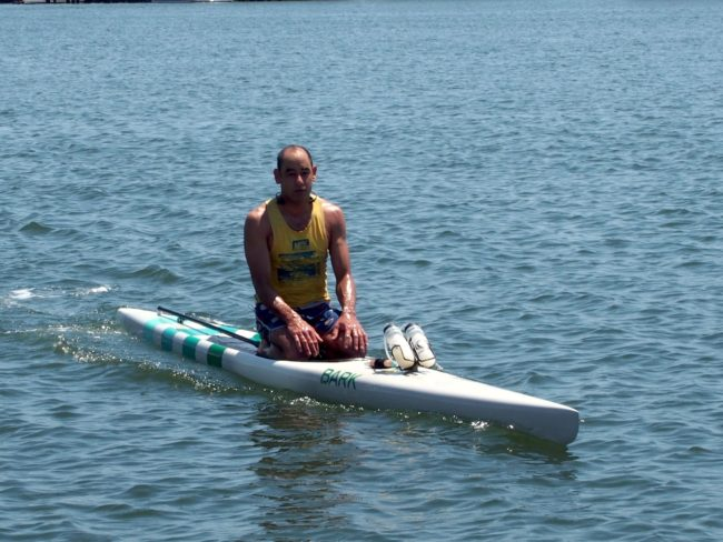 Dean Randazzo Cancer Foundation paddle for a cause prone