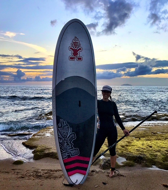 NY Surf Girl retreats Lisa Miller Starboard
