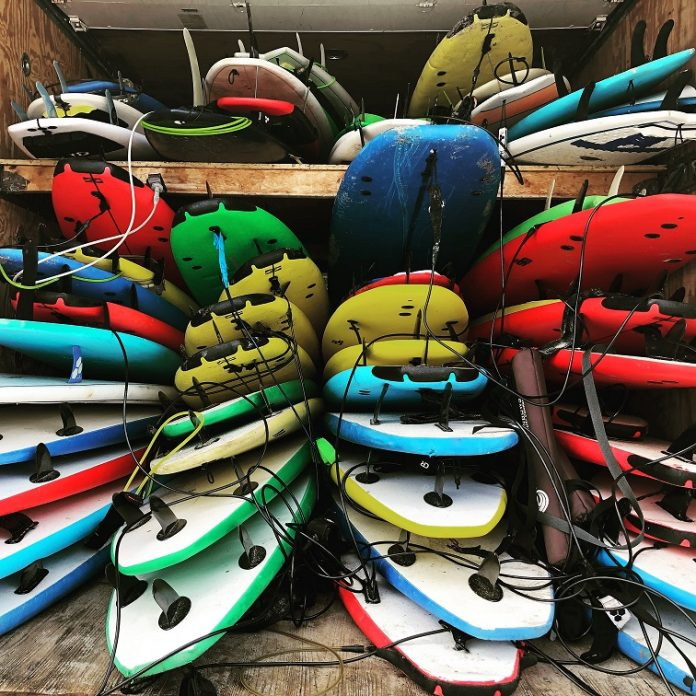 Winter Board Storage for your SUP