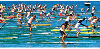 Rincon Beach Boy stand up paddle race puerto rico